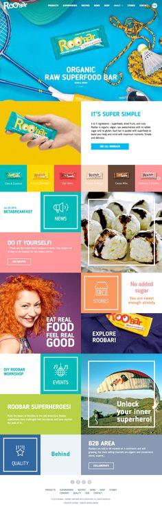 Roobar (More web design inspiration at topdesigninspiration.com) #design #web…