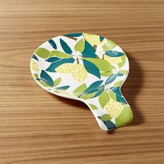 Lemon Tree Spoon Rest | Crate and Barrel
