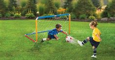 Amazon.com: Little Tikes Easy Score Soccer Set, Primary Colors: Toys & Games