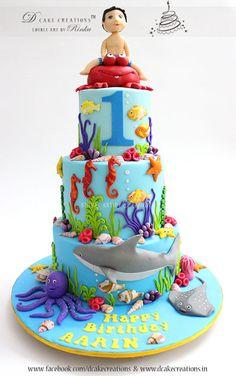 Sea World Theme Cake
