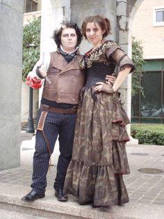 Sweeney Todd and Mrs. Lovett by ~Opergeist on deviantART