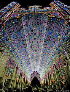 Light Festival 2012, Ghent, Belgium