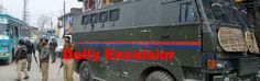 A policeman  injured in an attack on  police party at Muran Chowk in  Pulwama district Excelsior\Younis Khaliq