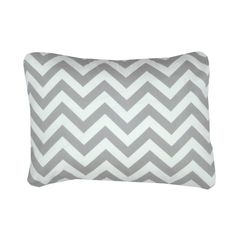 Lovely Grey And White Chevron Pillow Cover from www.layinlove.com