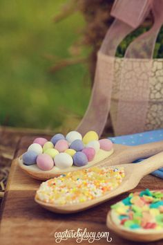 Easter Chocolate Spoons
