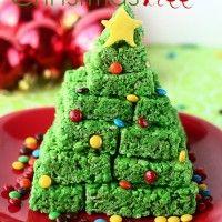 Rice Crispy Treat ChristmasTree!