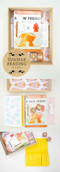 A lovely summer reading kit for the blossoming young readers in our lives...