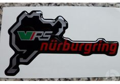 Nurburgring Badge, Stickers, Sticker, Decal, Badges, Decals