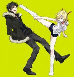 I hate Vorona, but I hope she kicks him really hard....