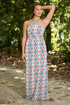 Eye Candy Only Imagine Maxi Dress, Coral #eyecandy #maxi