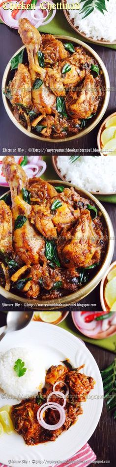 One of the most favourite and popular Chicken Curry dishes ever, the Chicken Chettinad has layers of flavours and a very distinct and delectable taste.The use of Black Stone Flower / Kalpasi /Dagadful infuses this dish with a gorgeous aroma and makes it a delight with every spoonful.Make this dish and trust me you will always have a table full of happy eaters. #ChickenCurry #IndianChickenCurry #RecipeLink…