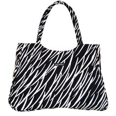 Marimekko Aro Black/White Tote Bag $135.00