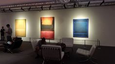 Mark Rothko Artist Paintings Preview Sotheby's Auction Gallery Jakarta Indonesia