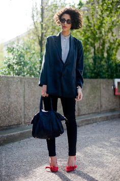 Yasmin Sewell by streetstyle aesthetic