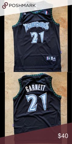 09da7784ec4 Kevin Garnett  21 Minnesota Timberwolves Jersey Brand new with tag All the  numbers and letters