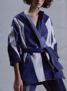 Capsule Denim, VADOM patchwork denim jacket, SS17, L'Express Style
