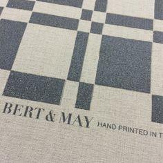 Hand Printed Bert & May Fabrics - Melossa Viola
