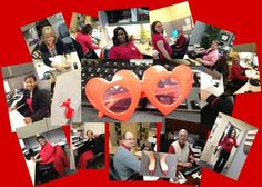 Offices Go Red!