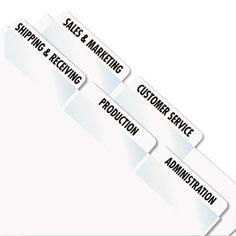 Laser Printable Index Tabs, 2 X 7/8, White, 80/pack