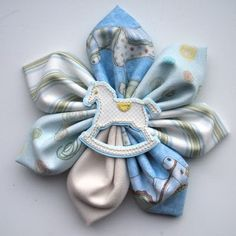 Cute Baby Shower Corsage Idea!