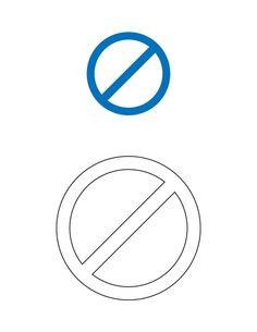 no stopping traffic sign coloring page | traffic- trafik ... - Stop Sign Coloring Page Printable
