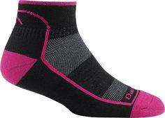 Darn Tough Coolmax 1-4 Sock Ultralight Blackenberry