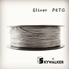 CE certification petg 1.75mm 3d filament 1kg high petg 3d filament quality sliver color  3d printer filament