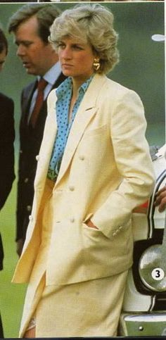 May 31 1987  King Constantine Polo Cup match at the Guards Club at Smiths Lawn, Windsor