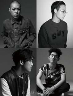 2015.07, Harper's Bazaar, hyukoh, (clockwise) Oh Hyuk, Im Hyun Je, Lee In Woo, Im Dong Gun