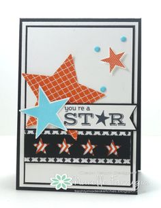 Pictogram punches, Simply stars, Star punches, Masculine card, Boy, Birthday