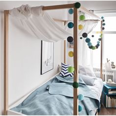 4YOU 4 POSTER SINGLE BED with Adjustable Height Levels | Four Poster Bed | Theme | Unusual Furniture | Bedroom