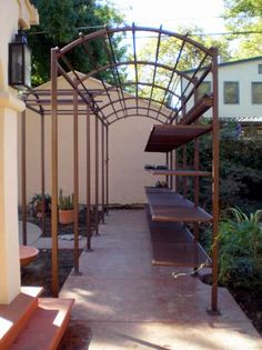 Steel Arbor with Removable Shelving System