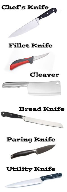 Superbe What Type Of Kitchen Knife Do You Need For The Job?