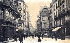 Nantes-place du Change rue des Carmes