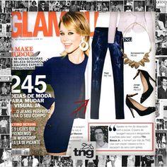TNG no especial sobre Jeans da Revista Glamour!