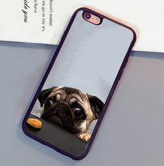 Cutest Cool Crazy Pug Phone Cases For iPhone