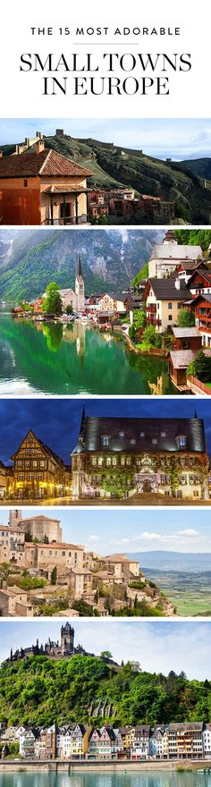 Bet you haven t been to these15 incredible small towns across the European  continent. 242f3219d7c
