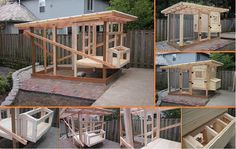 Here's the link to the tutorial >> DIY Chicken Coop Tutorial << by Tinkering Lab…