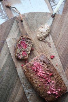 Peanut Butter Raspberry Bread