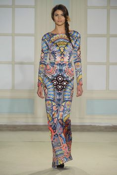 "Temperley's Sexy New Look is More Than Just Fashion Folklore: Alice Temperley hailed ""the start of a new and exciting era"" at London Fashion Week today, leading the Temperley girl down a sexier path for Fall 2014."