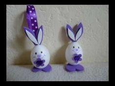 Kreatív ötletek Húsvétra: Húsvéti nyuszi hungarocell tojásból - YouTube