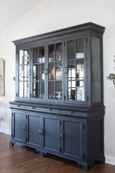 54 Best ideas for farmhouse dining room hutch fixer upper - 54 Best ideas for f. - 54 Best ideas for farmhouse dining room hutch fixer upper – 54 Best ideas for f… – 54 Best - Dining Room Hutch, Dining Room Furniture, Refurbishing Furniture, Dining Table, Fixer Upper, Painted China Cabinets, Blue China Cabinet, Farmhouse Furniture, Farmhouse Ideas