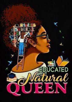 Black Girl Art, Black Art, Art Girl, World Of Books, Black Love, Nature, Movie Posters, Tattoo Ideas, Quilt