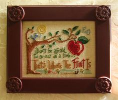 Primrose Needleworks, That's Where The Fruit Is