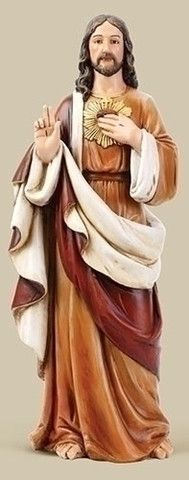 "Sacred Heart Of Jesus Statue 24"" Tall Joseph's Studio – http://www.beattitudesgift.com/collections/statues/products/sacred-heart-of-jesus-statue-24-tall-josephs-studio Beattitudes Religious Gifts"