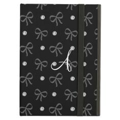 Monogram black diamonds and bows iPad case you will get best price offer lowest prices or diccount couponeReview          	Monogram black diamonds and bows iPad case Review from Associated Store with this Deal...