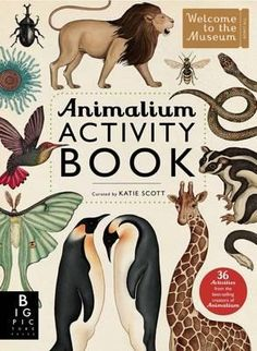 Informative, imaginative and artistic activities for young naturalists everywhere.