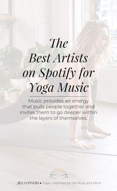 Music for a yoga practice can create the mood, generate positive vibrations and encourage grace within the pause and movement through asanas (postures). Yoga Playlist, Yoga Teacher Training, Vinyasa Yoga, Meditation Music, Yoga Lifestyle, Yin Yoga, Yoga For Beginners, Best Artist, Yoga Inspiration
