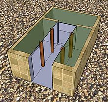 Four room house - reconstructed ground plan