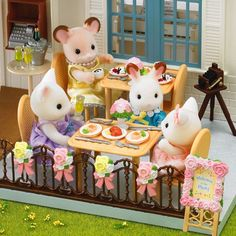Sylvanian Families Wedding Banquet Set